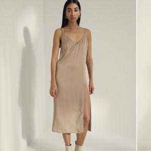 Wilfred slit slip dress